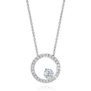 18 karátos gyémánt nyakék